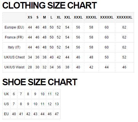 Таблица размеров Asos