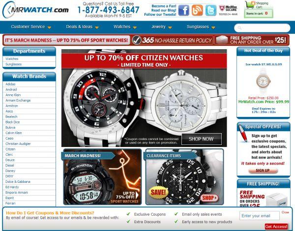 Интернет-магазин Mrwatch.com