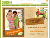 Интернет-магазин Gymboree.com