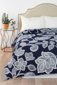 цветное постельное белье urban outfitters