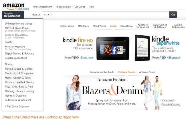 Интернет-магазин Amazon.com