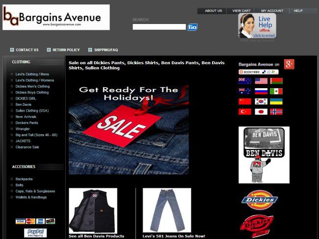 Интернет-магазин Bargainsavenue.com