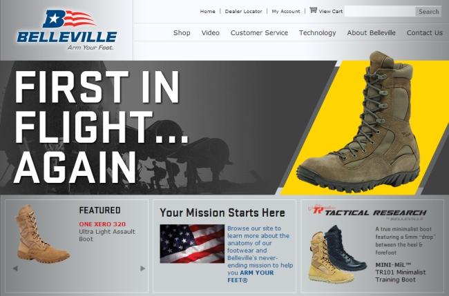 Интернет-магазин Bellevilleboot.com