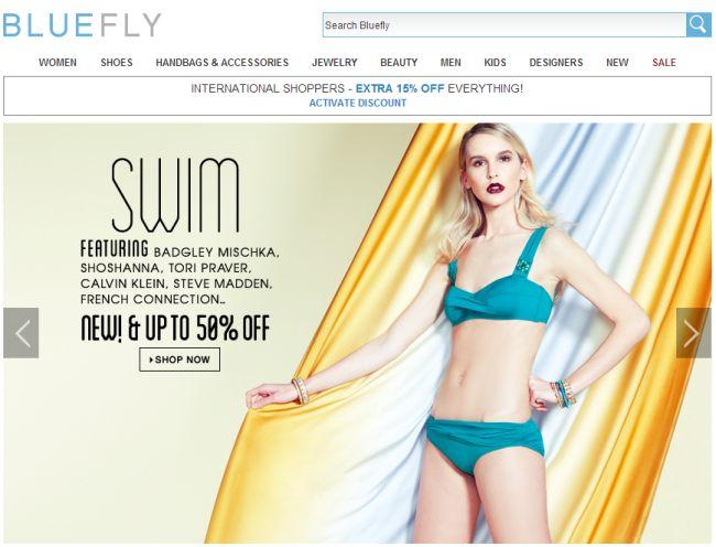 Интернет-магазин Bluefly.com