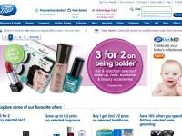 Интернет-магазин Boots.com