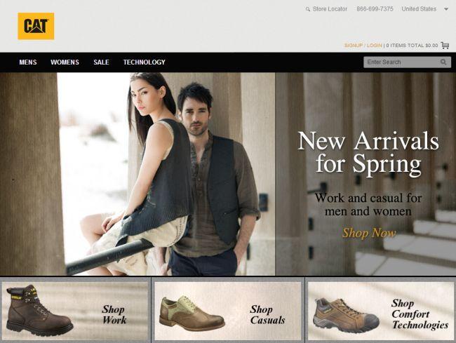 Интернет-магазин Catfootwear.com