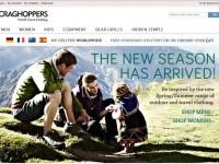 Интернет-магазин Craghoppers.com