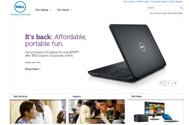 Интернет-магазин Dell.com