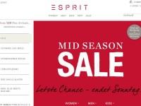 Интернет-магазин Esprit.de