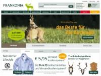 Интернет-магазин Frankonia.de