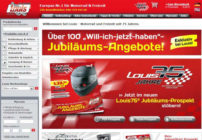 Интернет-магазин Louis.de