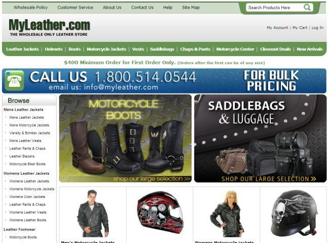 Интернет-магазин Myleather.com