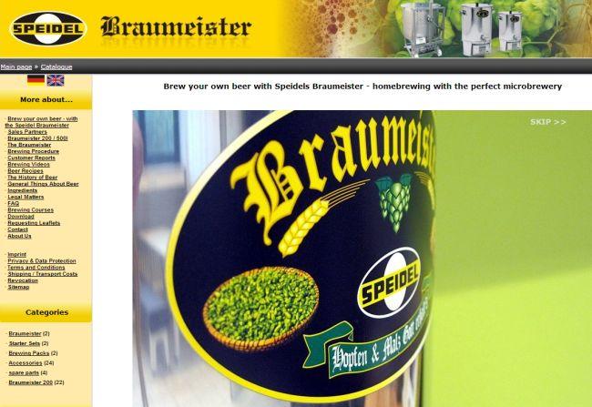 Интернет-магазин Speidels-braumeister.de