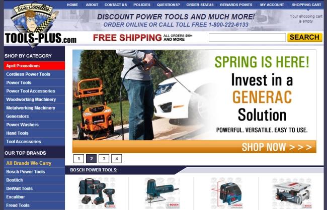 Интернет-магазин Tools-plus.com