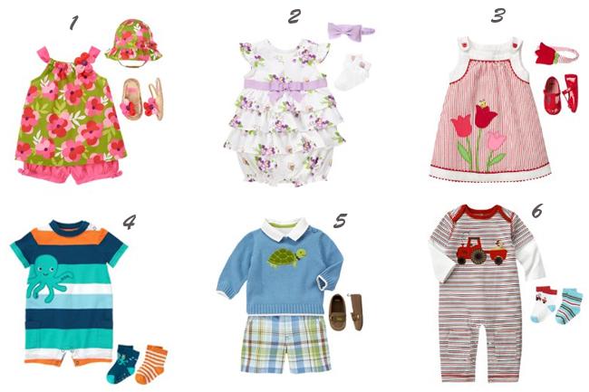 одежда для новорожденных gymboree