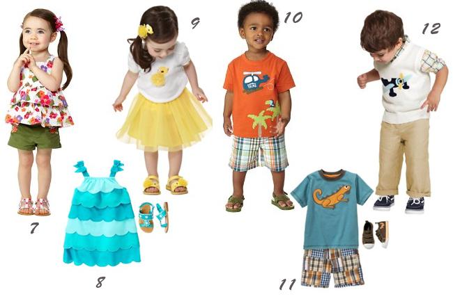 детская одежда gymboree