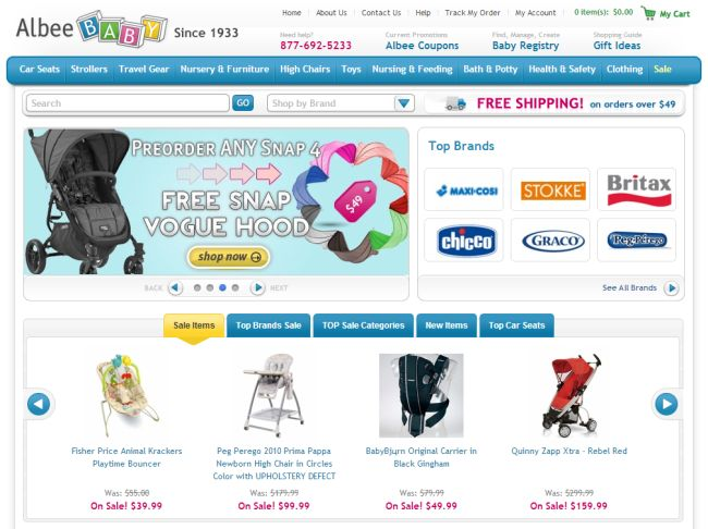 Find the latest Albee Baby promo codes, coupons & deals for December - plus earn % Cash Back at Ebates. Join now for a free $10 Welcome Bonus.