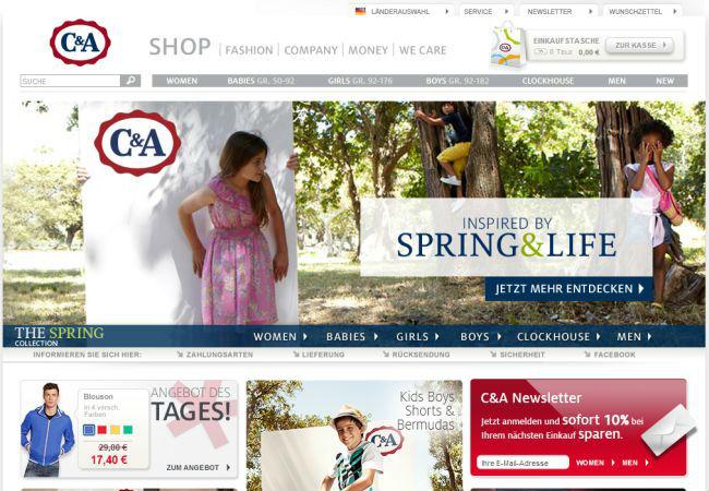 Интернет-магазин Cunda.de