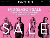 Интернет-магазин Danier.com