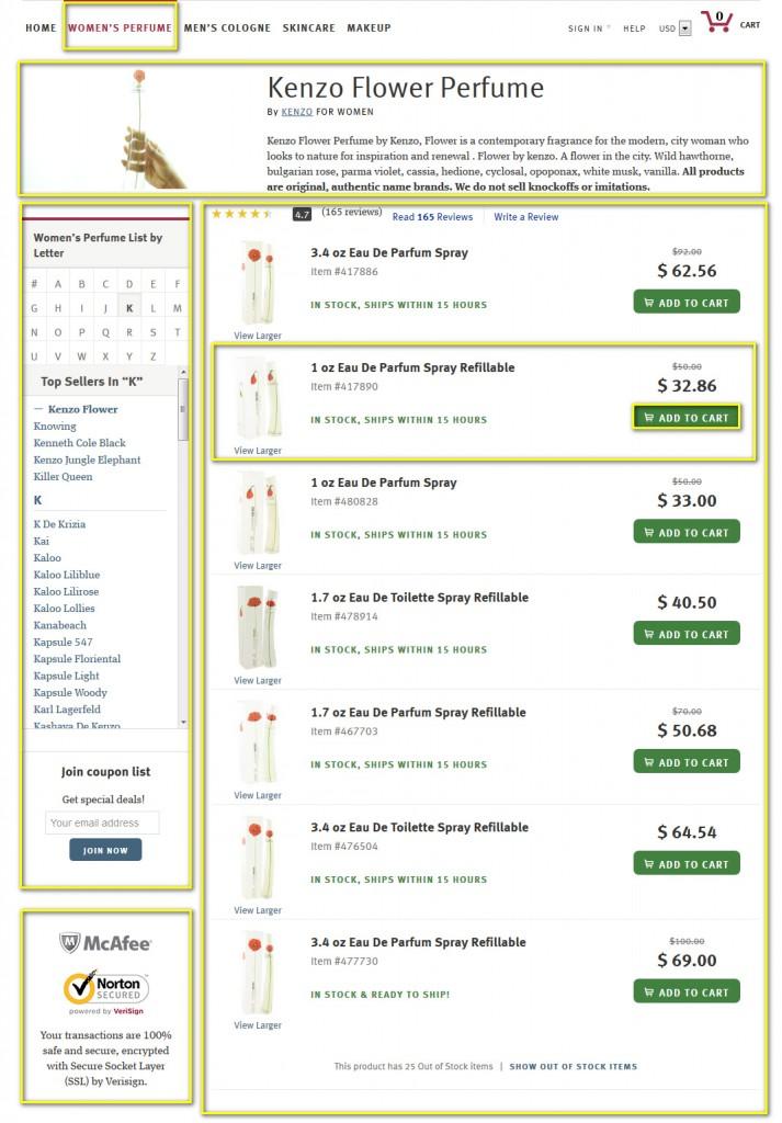 Как сделать заказ на fragrancex.com