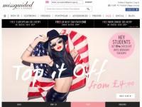 Интернет-магазин Missguided.co.uk