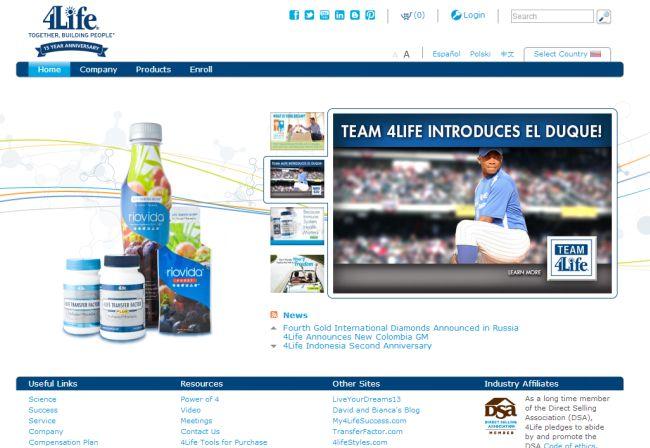 Интернет-магазин 4life.com