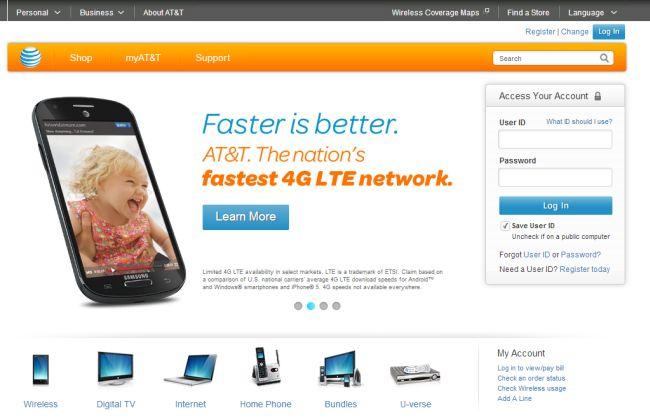 Интернет-магазин ATT.com