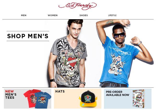 Интернет-магазин Edhardyshop.com