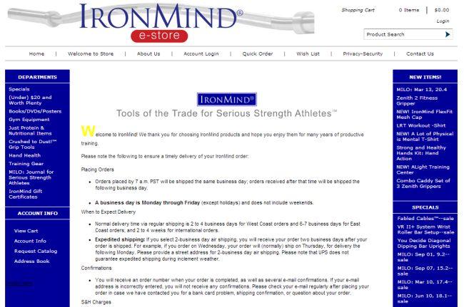 Интернет-магазин Ironmind-store.com