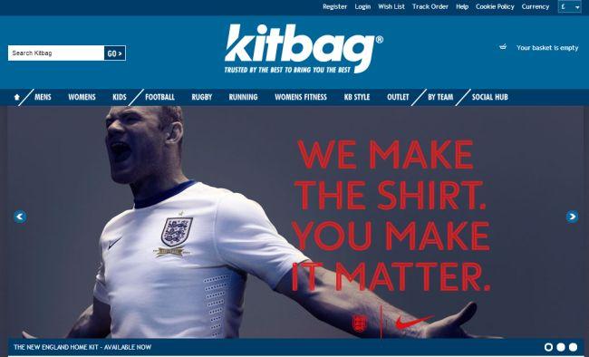 Интернет-магазин Kitbag.com
