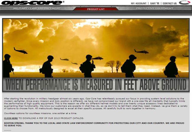 Интернет-магазин Ops-core.com
