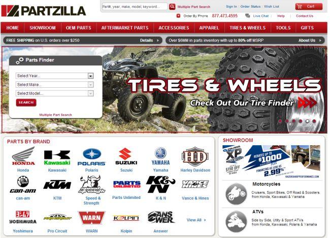 Интернет-магазин Partzilla.com