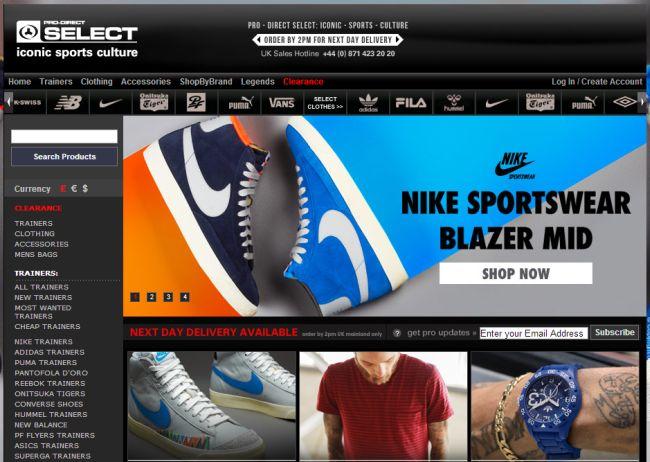 Интернет-магазин Prodirectselect.com
