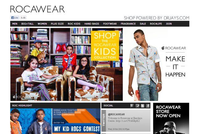 Интернет-магазин Rocawear.com