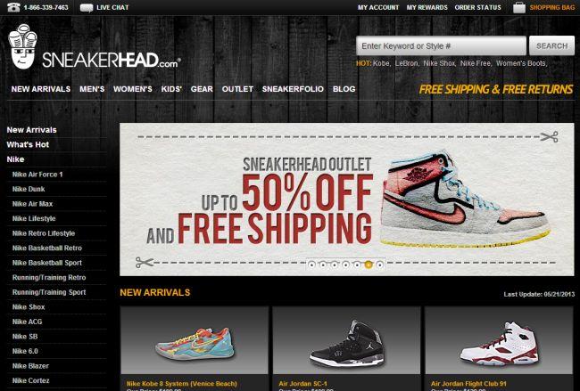 Интернет-магазин Sneakerhead.com