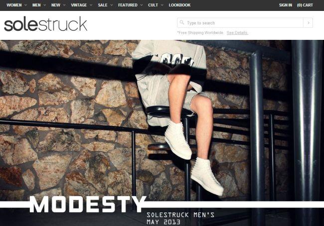 Интернет-магазин Solestruck.com