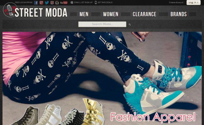 Интернет-магазин Streetmoda.com