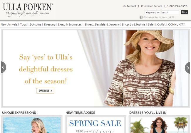 Интернет-магазин Ullapopken.com