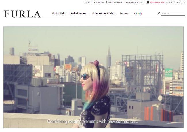 Интернет-магазин Furla.com