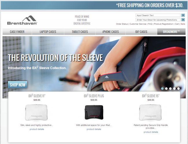 Интернет-магазин Brenthaven.com