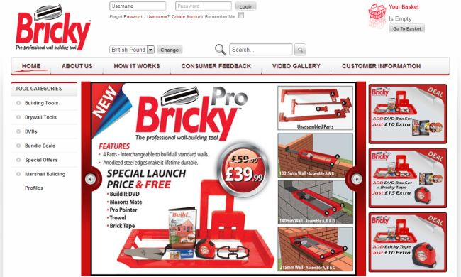 Интернет-магазин Brickytool.com