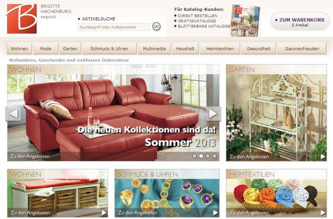 Интернет-магазин Brigitte-hachenburg.de