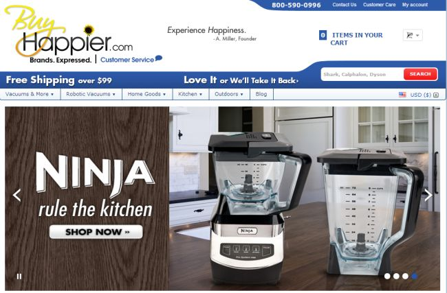 Интернет-магазин Buyhappier.com