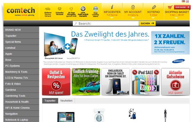 Интернет-магазин Comtech.com
