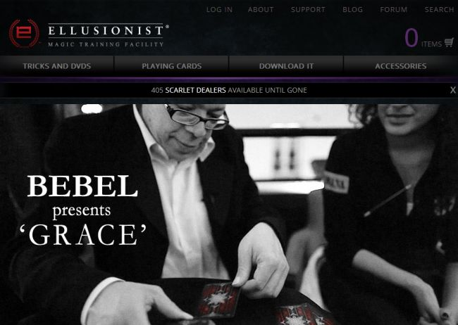 Интернет-магазин Ellusionist.com