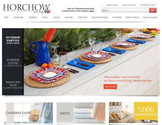Интернет-магазин Horchow.com