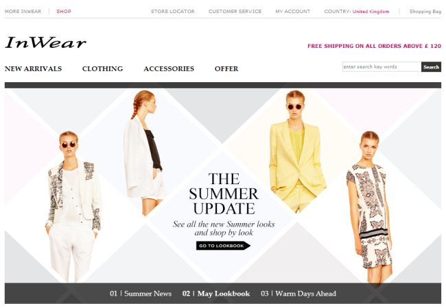 Интернет-магазин Inwear.com