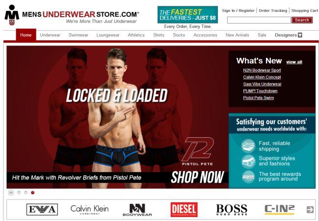 Интернет-магазин Mensunderwearstore.com