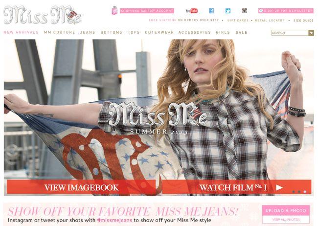 Интернет-магазин Missme.com