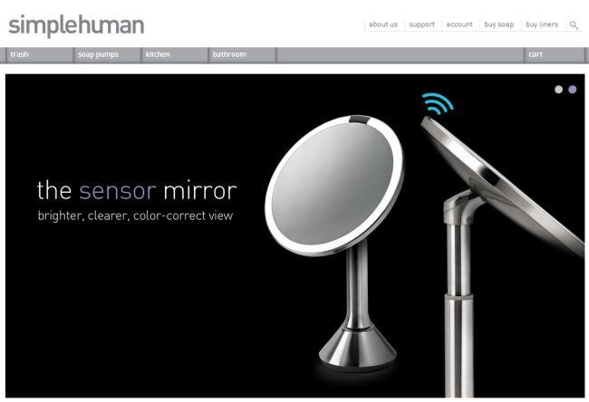 Интернет-магазин Simplehuman.com